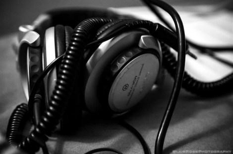 headphones, eat clean dance dirty, blair robb photo